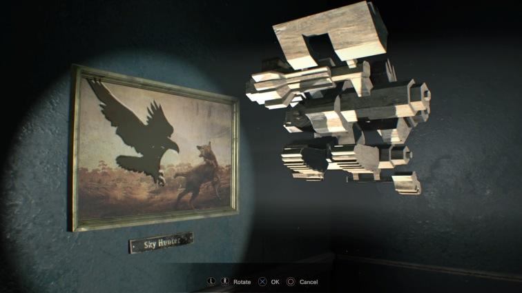eagle shadow puzzle