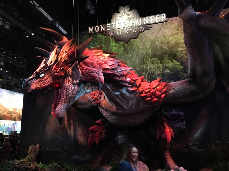 monster hunter world display