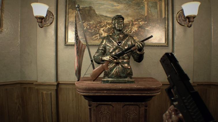 shotgun statue
